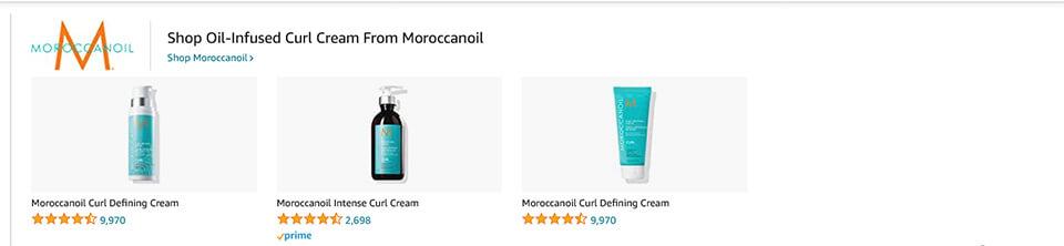 Amazon Sponsorlu Marka Reklamı Örneği